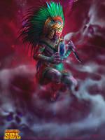 Tezcatlipoca by Feig-Art