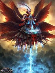 Azrael, Angel of Death by Feig-Art