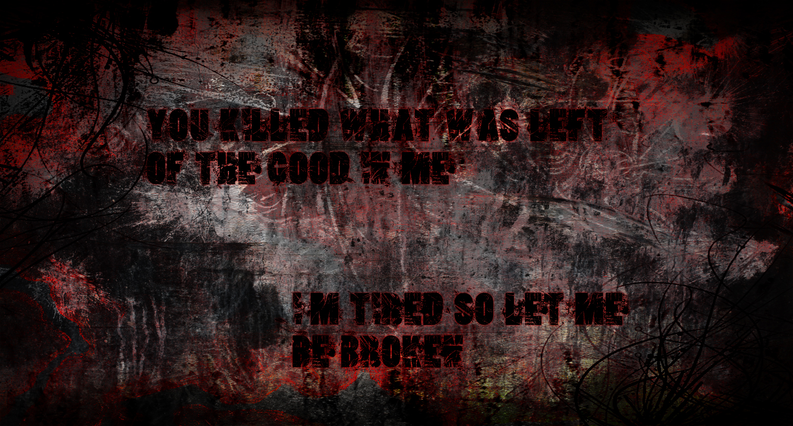 A Day To Remember grunge wallpaper by TheGreatFrikken on ... A Day To Remember Lyrics Wallpaper