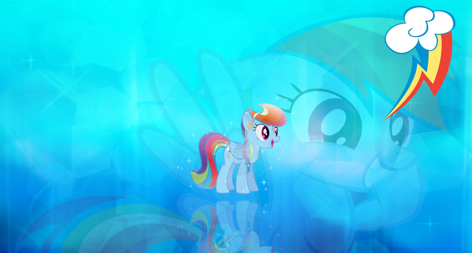 Rainbow Dash Wallpaper by TheGreatFrikken