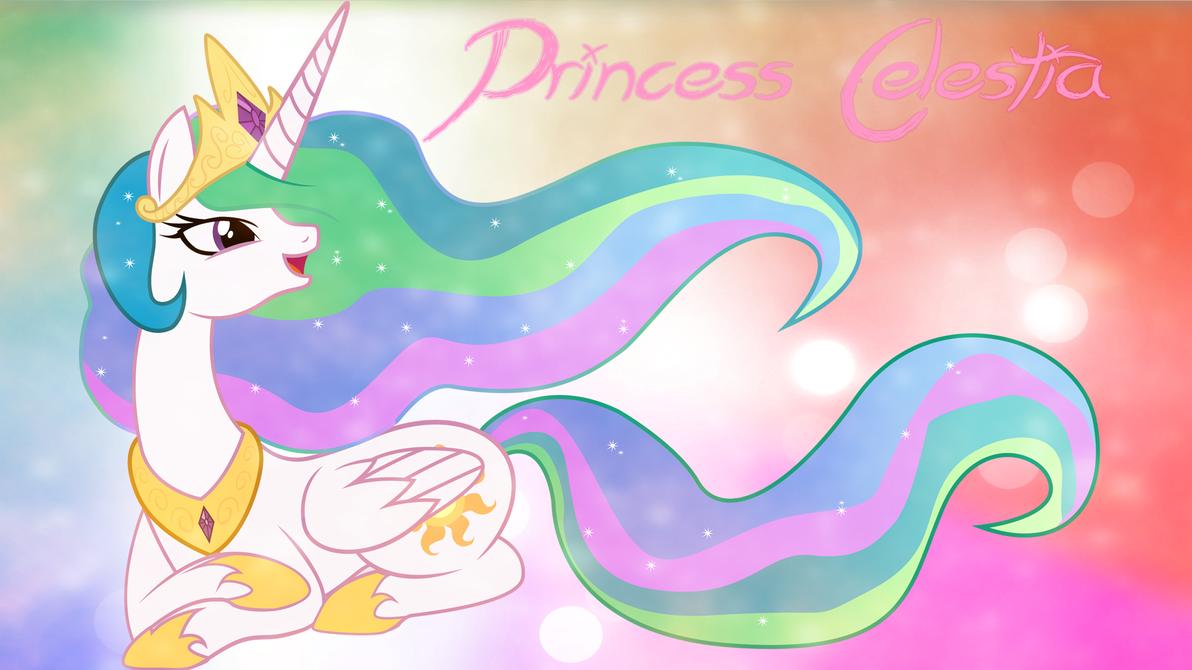 princess celestia wallpaper by thegreatfrikken on deviantart