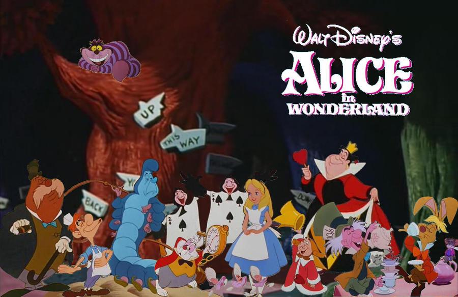 alices wonderland original from walt disney