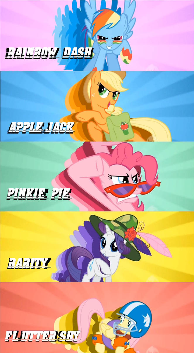 MY LITTLE PONY: GAME ON, HATERZ!!! by GotMiley2 on DeviantArt