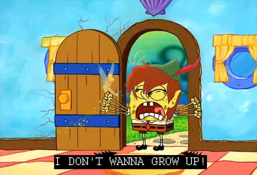 SPONGEBOB: I DO... Spongebob Grown Up