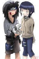 Kiba and Hinata, Coloured by Momodesu