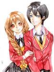 :CM: Darien and Anju by WindyKun