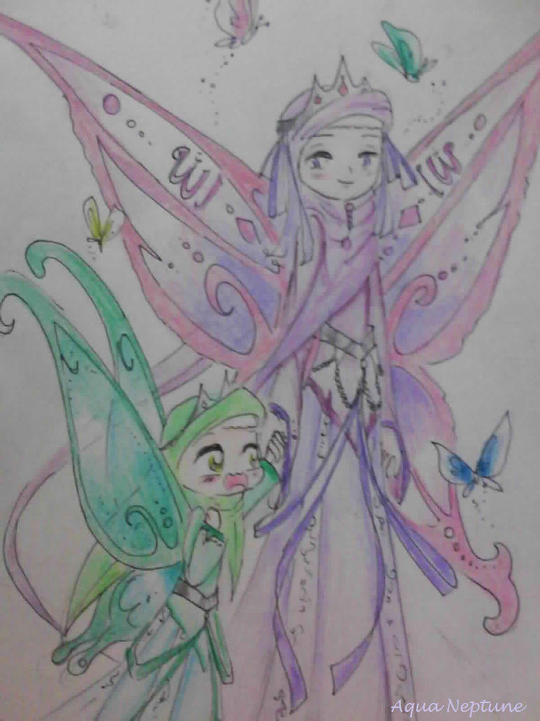 Nur Lily and Her Mother by Charming-Manatee on DeviantArt