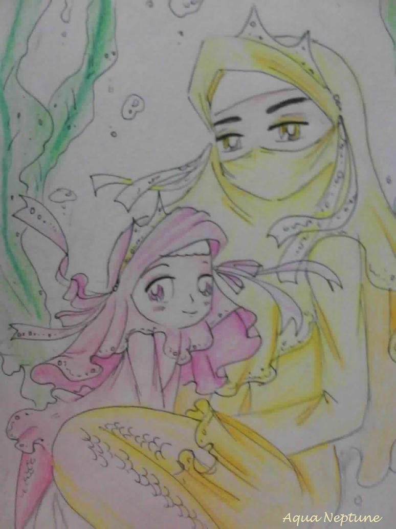 Nur Marin and her Mother by Charming-Manatee on DeviantArt