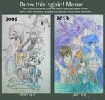Redraw: Hime's Dragon Transformation
