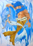 Father and Daugther's Selkies Dance by Charming-Manatee