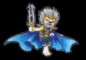 [LEGO CHIMA] King Lagravis by Charming-Manatee