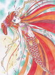 The Mermaid with Golden Scales