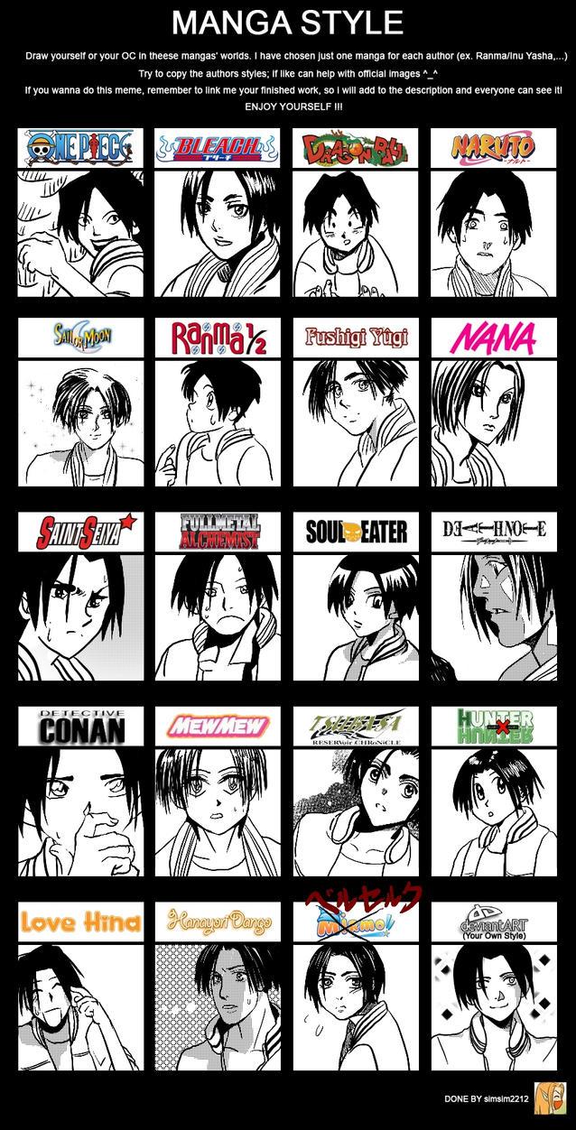 Manga Style Meme by LolipopCandii