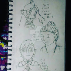 New Taika Nina Characters
