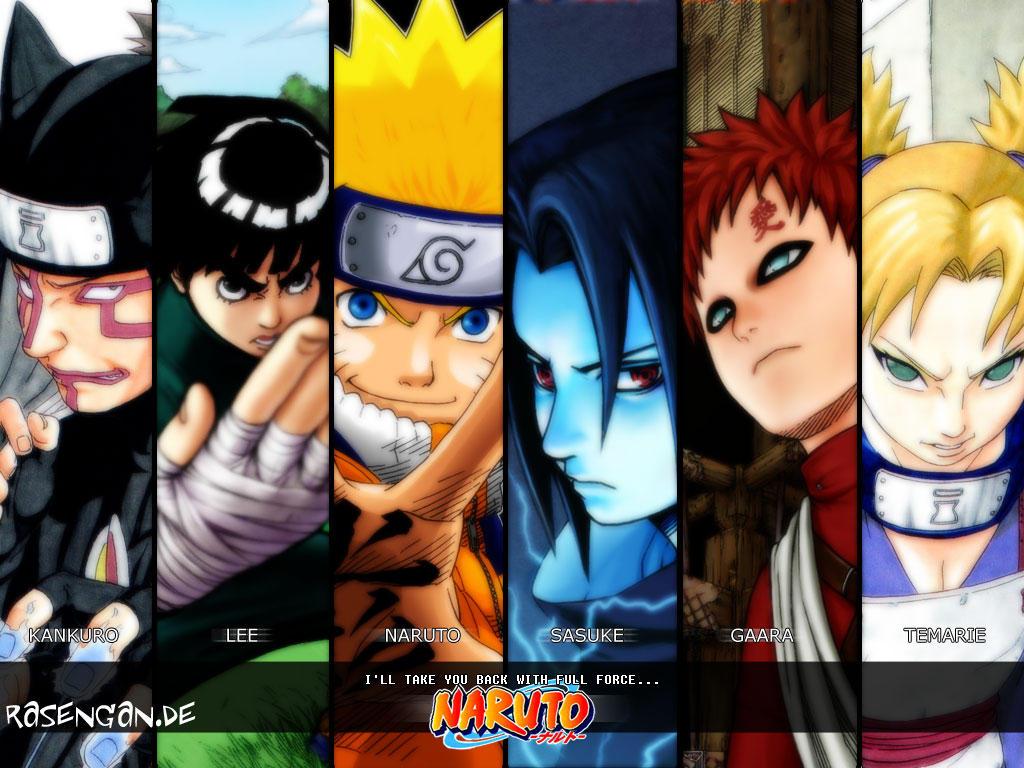 Naruto and Genin wallpaper by Kitizhi