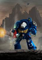 Warhammer Space Marine Terminator by BrianJMurphy