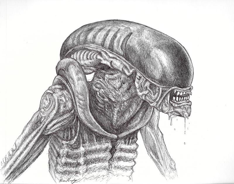 Dog Alien by BrianJMurphy