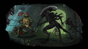 TMNT vs. Aliens Episode III