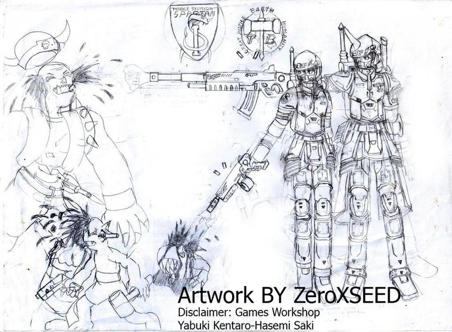 YuixRito, 40K Style by ZeroXSEED