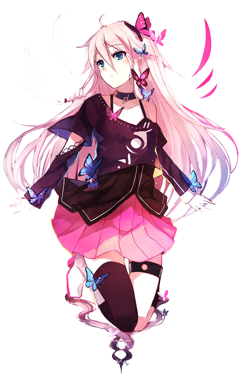 Anime Characters Png : Pink haired render by cynical rainbow on deviantart