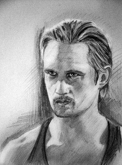 Alexander Skarsgård (Eric of True Blood) and his brother