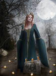 The Goddess Brigid's Imbolc by AvalonSky