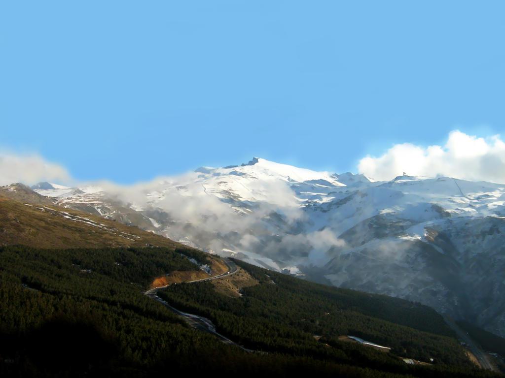 Sierra nevada mountain by karppanen