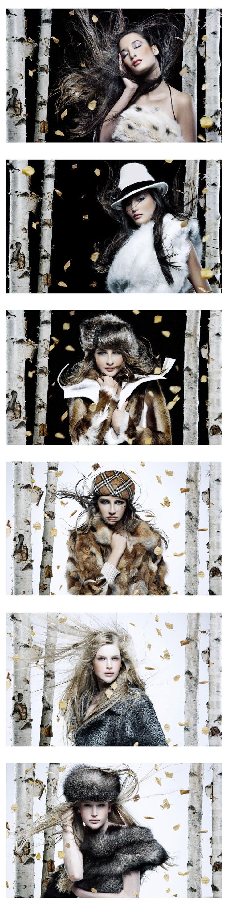 Beauty autumn shot. 3 models by lg2