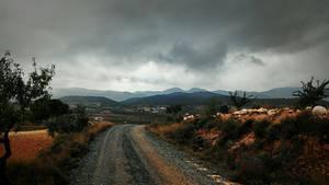 Grey dull skies by Ullyssess