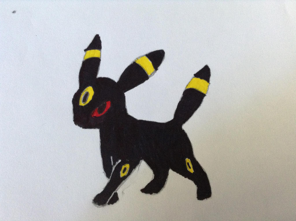 Umbreon sketch by attacker752
