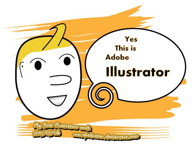 My first Illustrator work by absdostan