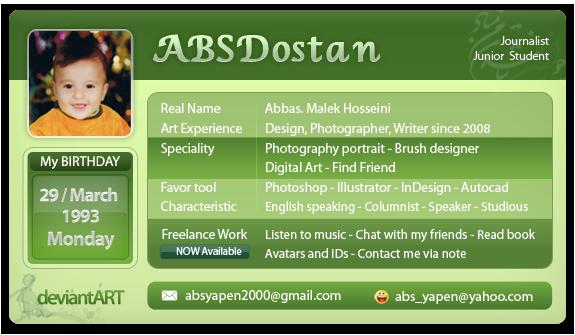 absdostan's Profile Picture