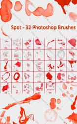 Spot - 32 Photoshop Brushes