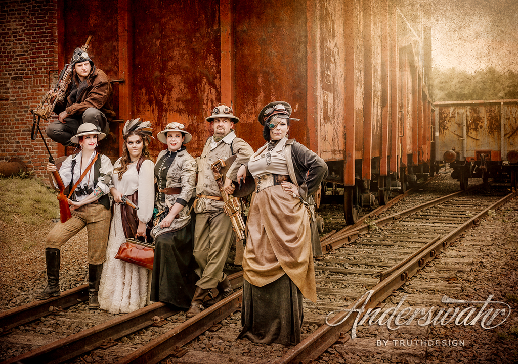 Steampunk Gang by SelinaKyle
