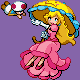 Peach pkmn trainer sprite by leom-rawr