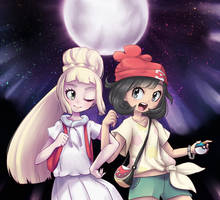 Lillie and the Moon by leom-rawr