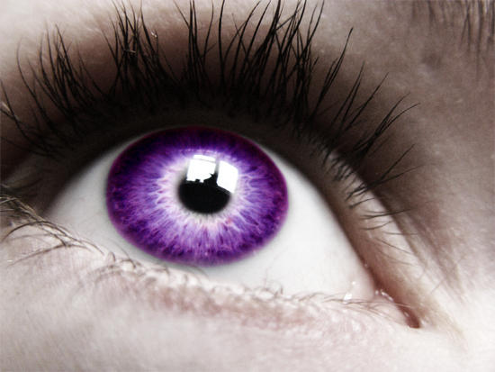 Image result for eye purple