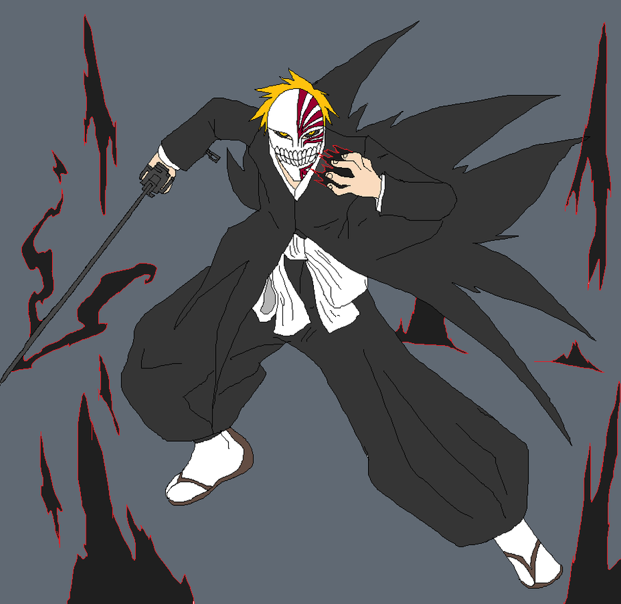 Hollow Ichigo By Metal-Kitty On DeviantArt