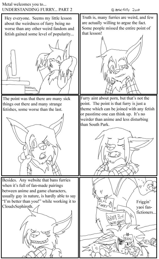Furry Analysis 2 by Metal-Kitty