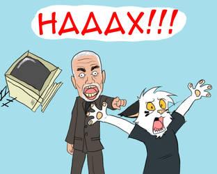THE HAAAAAX by Metal-Kitty