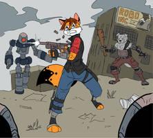 Wasteland Warrior by Metal-Kitty