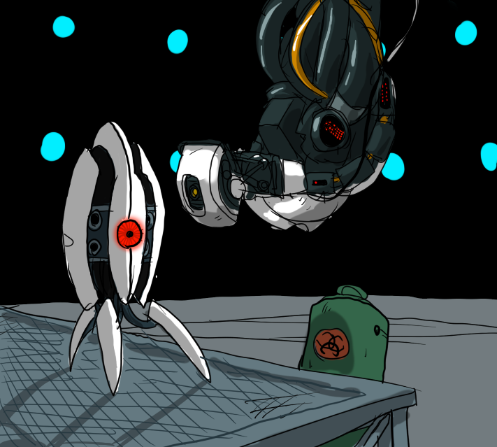 GLaDOS is to blame by Metal-Kitty