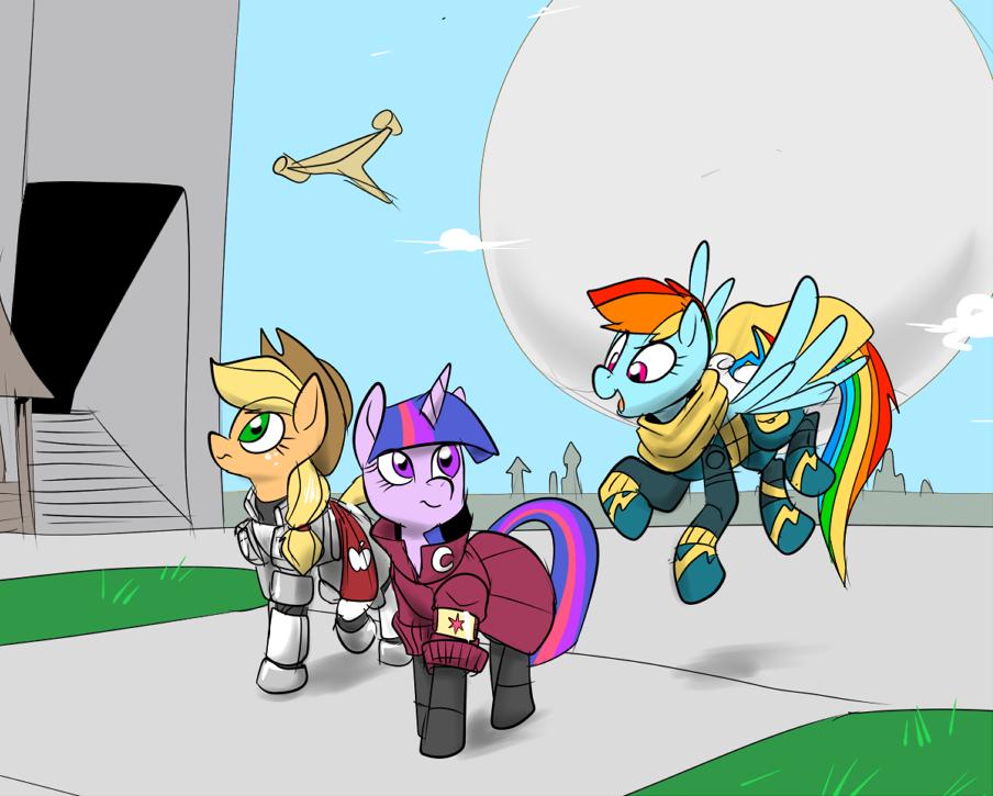Destiny Ponies by Metal-Kitty
