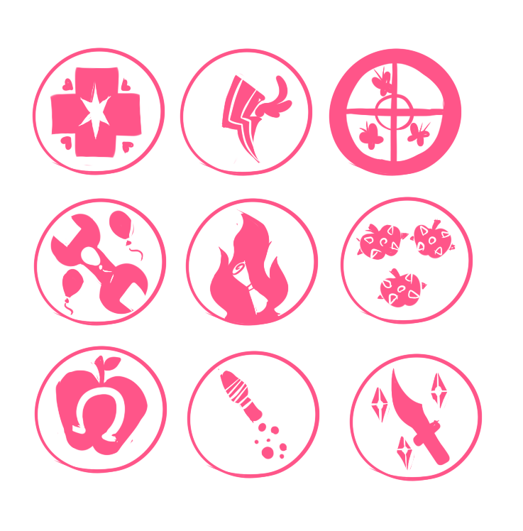 Pf2 Class Symbols By Metal Kitty On Deviantart