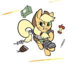 Fallout Ponies - Applejack