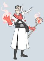 Fantasy Medic (Mage) by Metal-Kitty