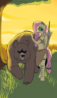 Fluttershy - The Beastmaster