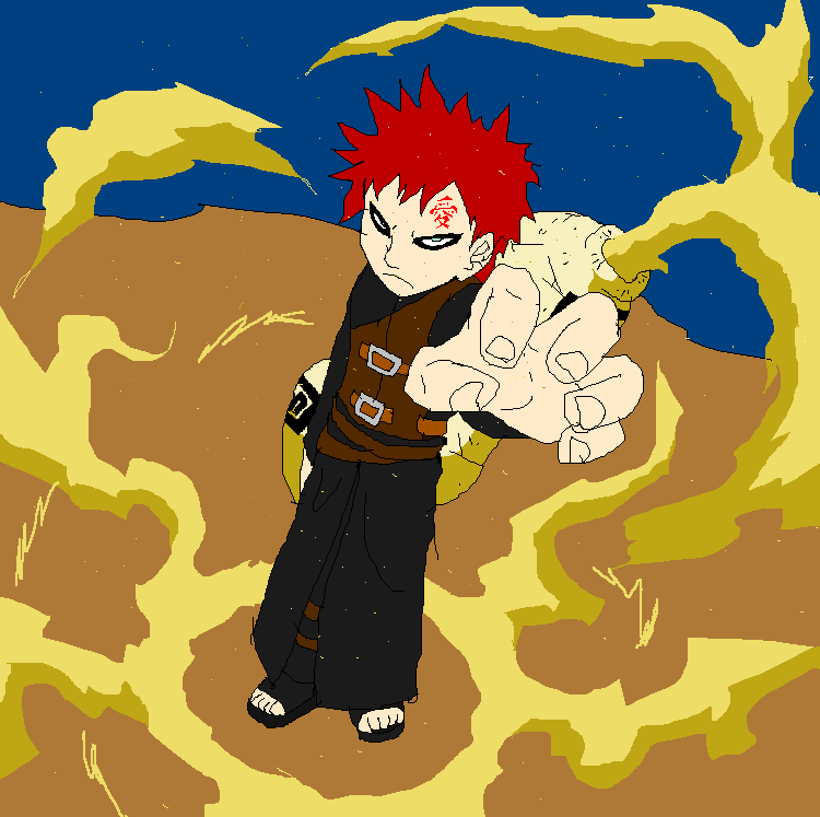 Gaara of the Desert by  Gaara Of The Desert Evil