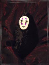 Noface plushie by dischordiasnightmare
