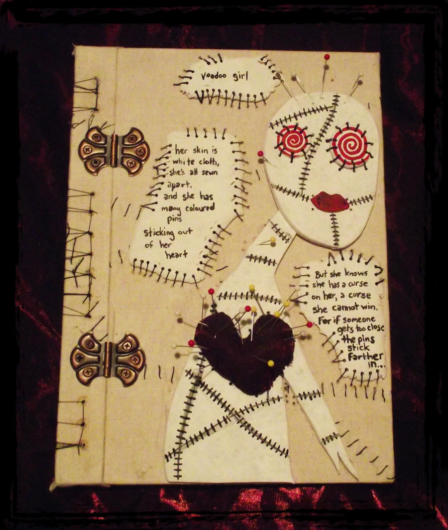 Voodoo Girl Journal by dischordiasnightmare